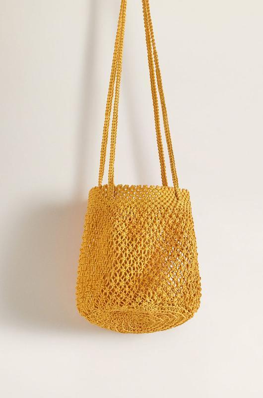 ?сумка торба сетка авоська mango Mango, цена - 390 грн, #36659226, купить по доступной цене | Украина - Шафа