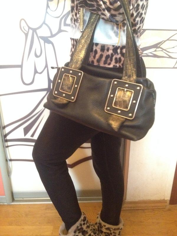 8a5ec015d3d1 Шикарная сумка кожа gilda tonelli италия chanel prada gucci furla dior1  фото ...