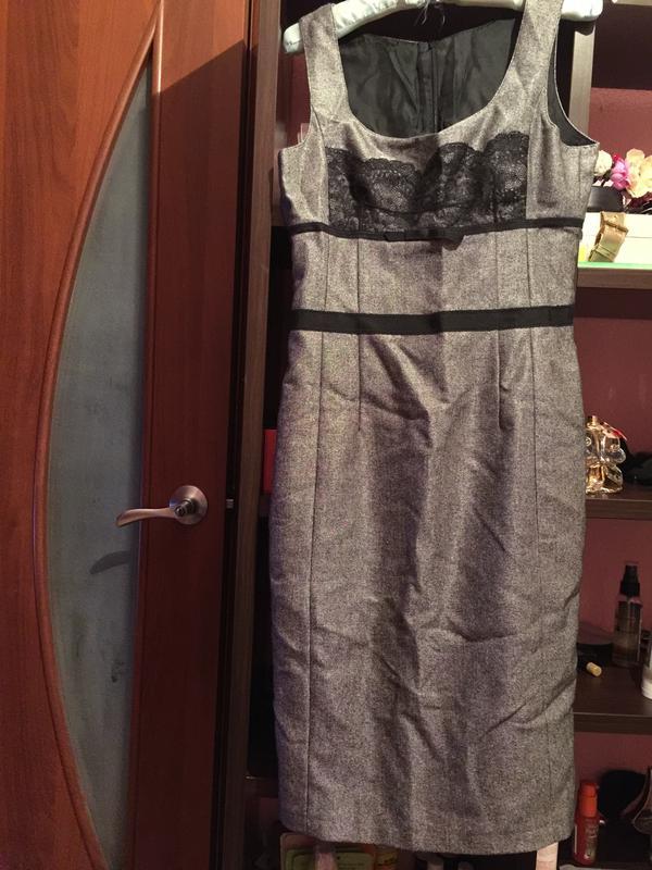 b6eb7aea499 Офисное платье сарафан