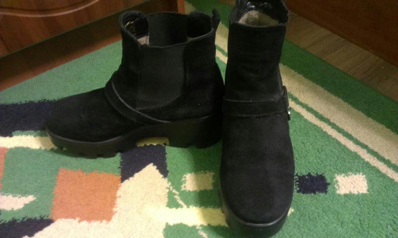Стильні черевички ботинки на тракторній підошві1 ... 8905babb95094