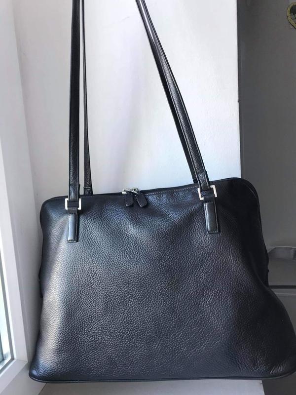 Кожаная сумка borella, цена - 400 грн, #37512707, купить по доступной цене   Украина - Шафа
