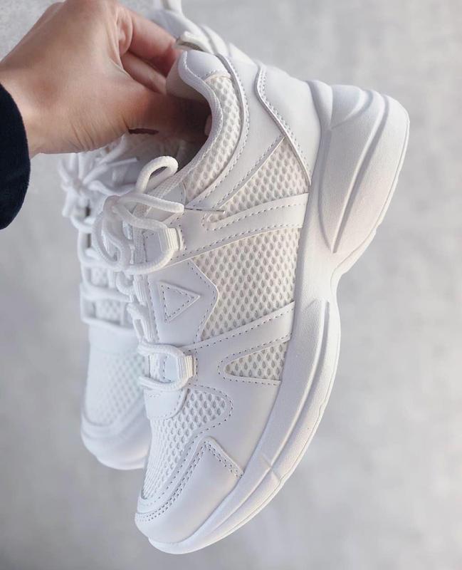 Летние белые кроссовки, цена - 470 грн, #37520730, купить по доступной цене | Украина - Шафа