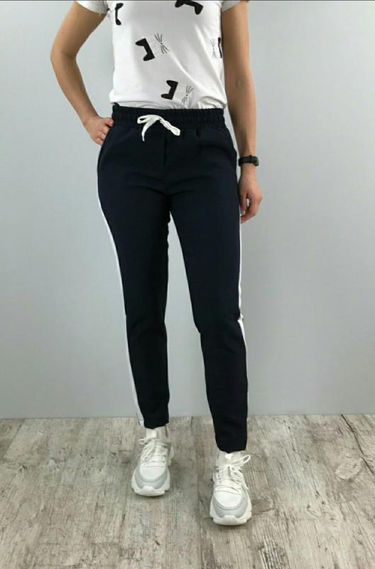 Женские брюки с лампасами спортивного стиля, цена - 275 грн, #37556785, купить по доступной цене | Украина - Шафа