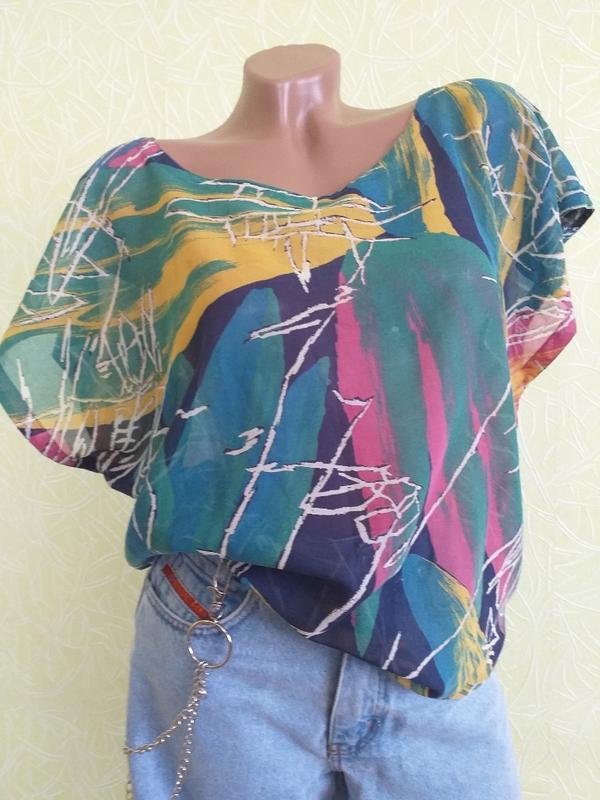 Блузка, бохо, винтаж, хлопок, франция Франция, цена - 200 грн, #37643901, купить по доступной цене | Украина - Шафа