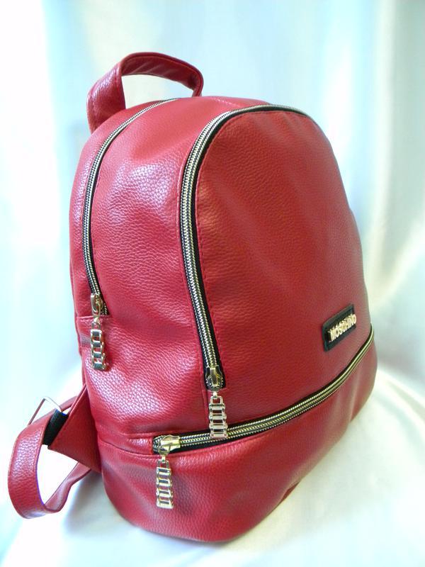 b2691d627ba3 Новинка 2017 женский кожаный рюкзак красный, цена - 299 грн ...