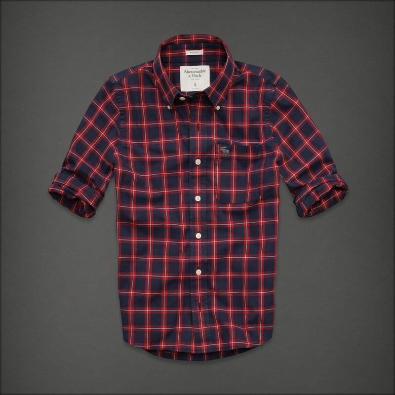 Abercrombie and fitch хлопковая мужская рубашка p.m Abercrombie & Fitch, цена - 345 грн, #37893105, купить по доступной цене | Украина - Шафа