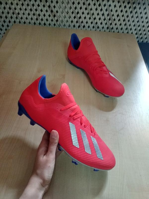 Футбольные бутсы adidas x 18.3 fg bb9367 оригинал Adidas, цена - 1185 грн, #38020334, купить по доступной цене | Украина - Шафа