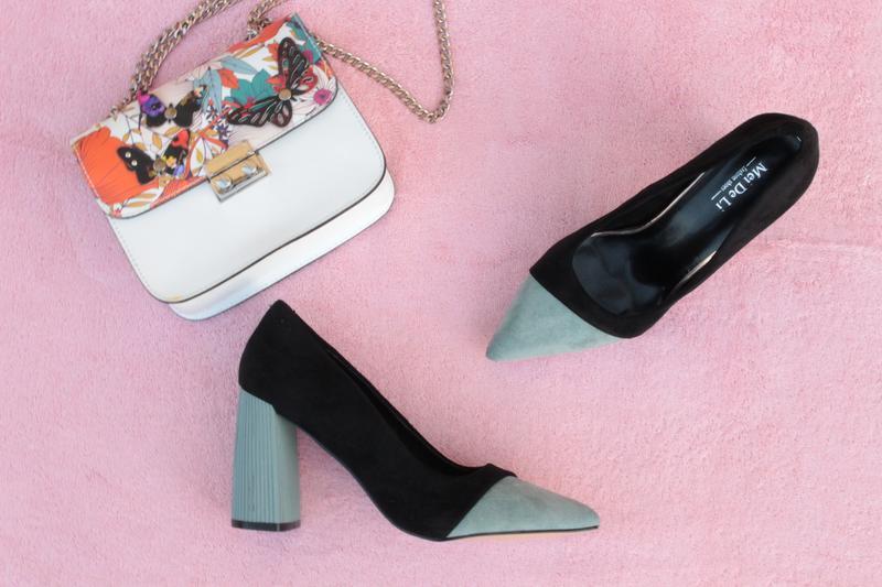 Черные туфли, лодочки 36, 37, 38, 39, 40 размера на устойчивом каблуке, цена - 550 грн, #38044761, купить по доступной цене | Украина - Шафа