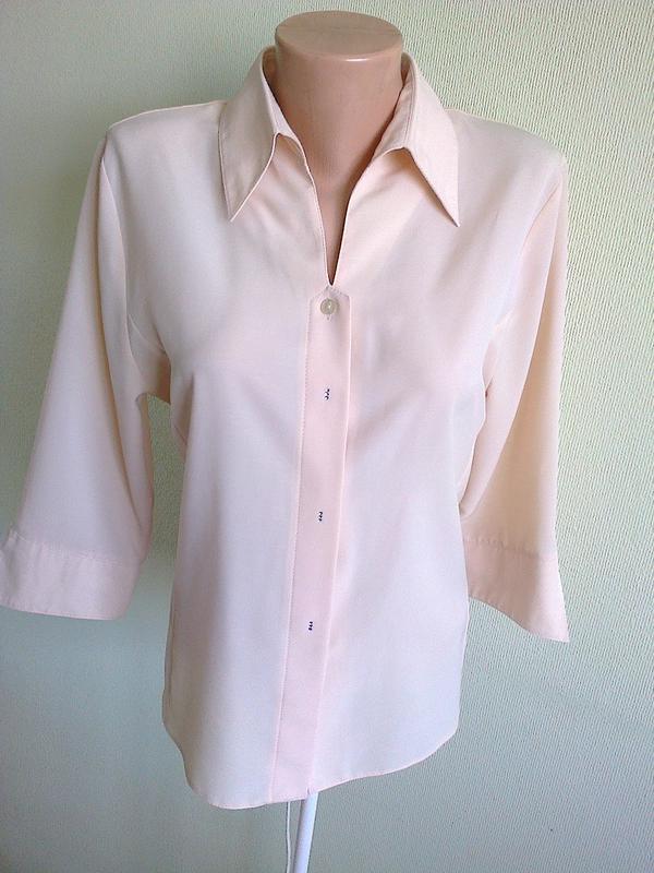 251e2906546 Элегантная кремовая блузка1  Элегантная кремовая блузка2. Элегантная  кремовая блузка