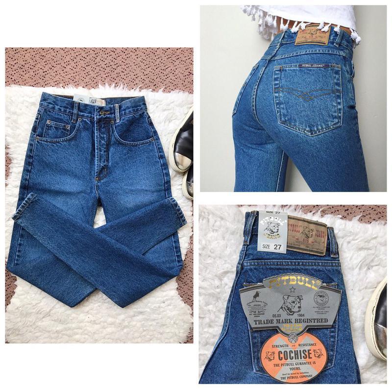 d2932653d3f Коллекция 2017! новые джинсы pitbull на высокой талии