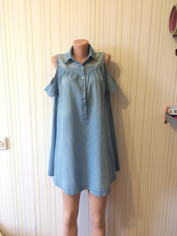cc3a3317fd2  джинсовое платье одежда для беременных asos 1 фото ...