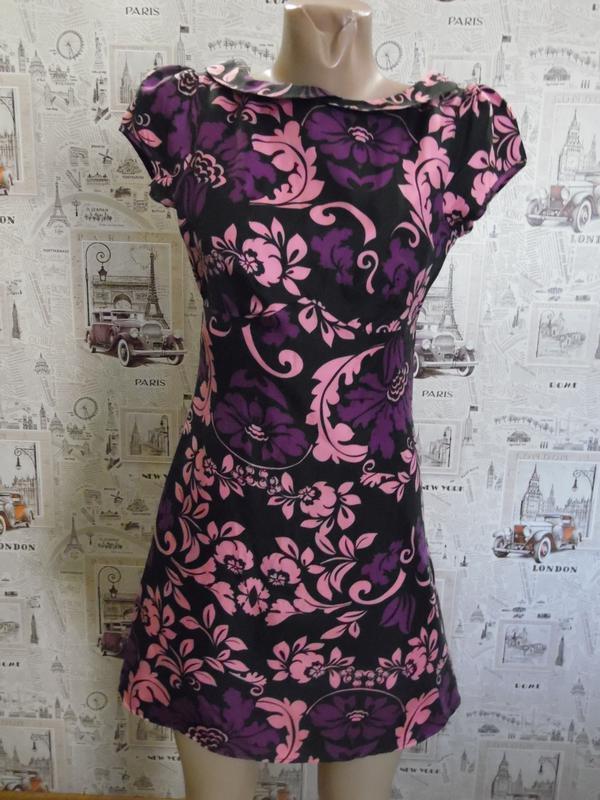 022a478d09b Платье в цветочек Warehouse