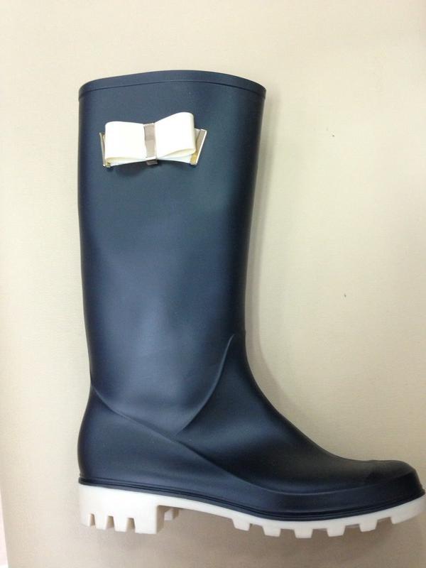 Чорні жіночі гумові чоботи   півчоботки (полусапожки) від vices1 ... 2bc1be39fd6b4