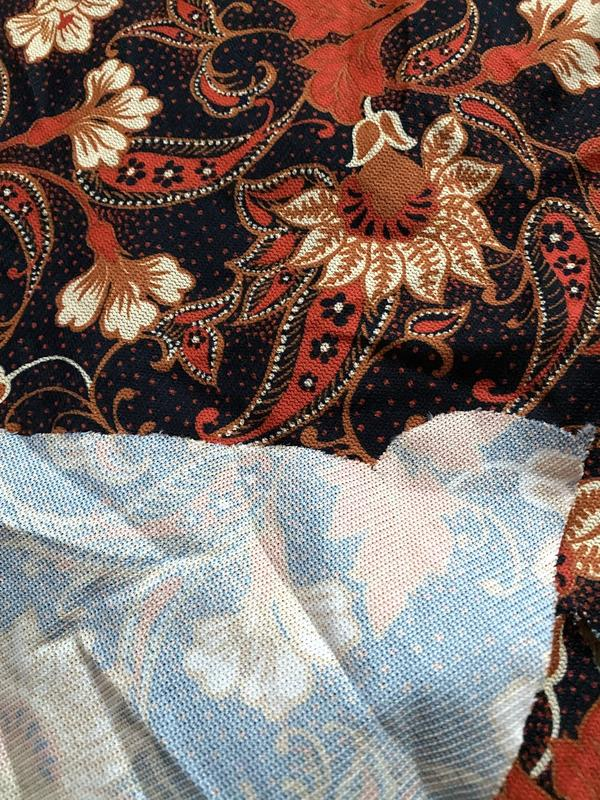 Лускут кремплиновой ткани ткань, цена - 10 грн, #39110200, купить по доступной цене | Украина - Шафа