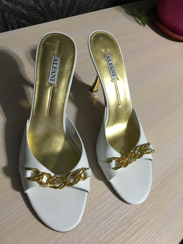 4afa9965a Шлепки на каблуке Alfani, цена - 300 грн, #4508770, купить по ...