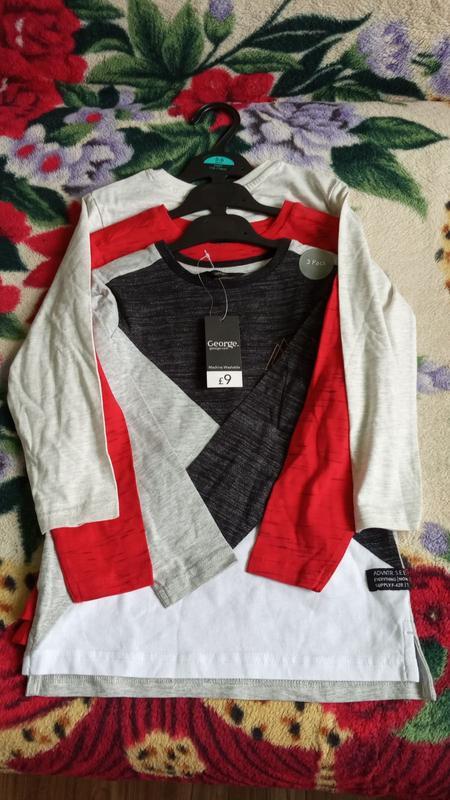Новий набір футболок для хлопчика з george (англія). George, цена - 290 грн, #39312074, купить по доступной цене | Украина - Шафа