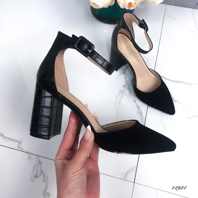 Туфли чёрные, цена - 550 грн, #39328154, купить по доступной цене | Украина - Шафа