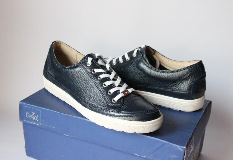 Шикарні шкіряні кросівки-снікери caprice 11382ebe2c2b1
