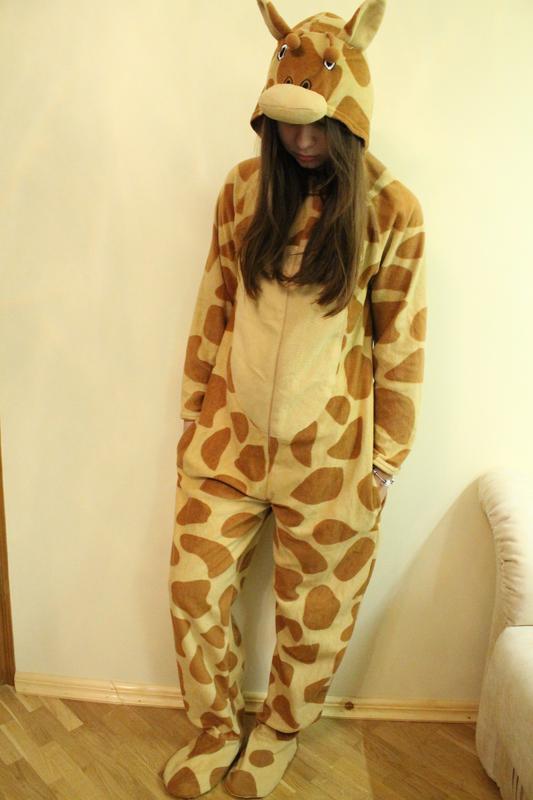 Класcная пижама кигуруми жираф a5af3033694ed