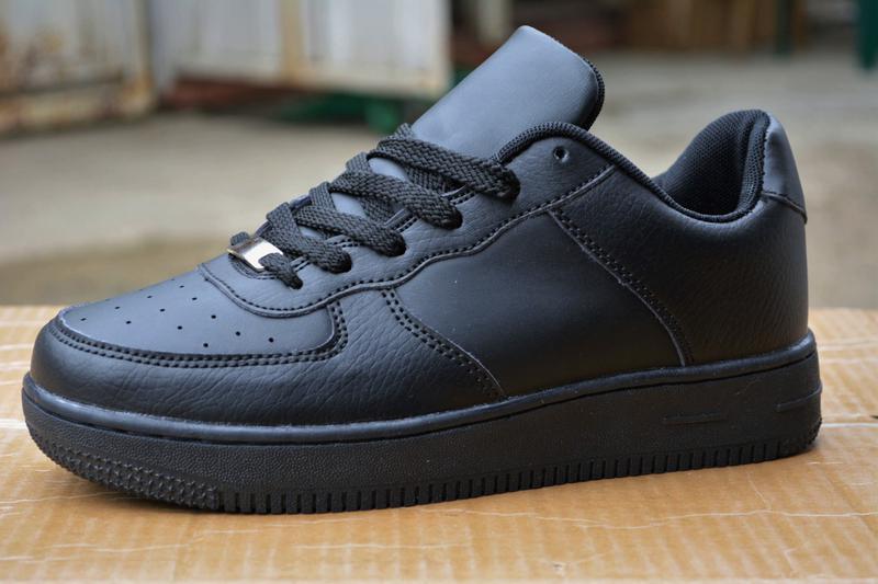 Женские кроссовки черные кожа кожаные из кожи новинка стильные модные1 ... 173eecaf870