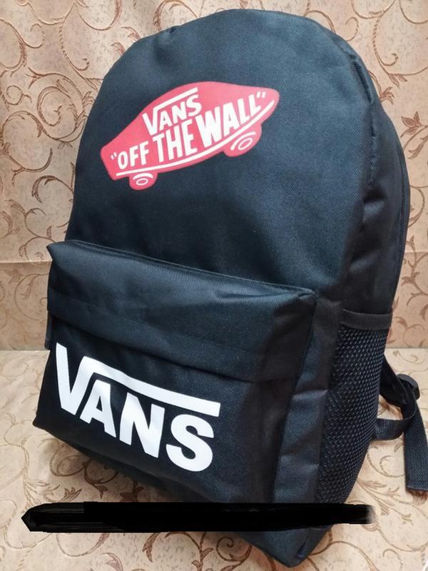 Vans off the wall рюкзак портфель кожаный и тканевый спортивный ... 9025cf39179