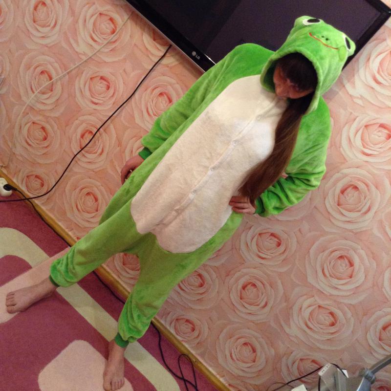 Пижама кигуруми лягушка (новая 7e994b18cd497