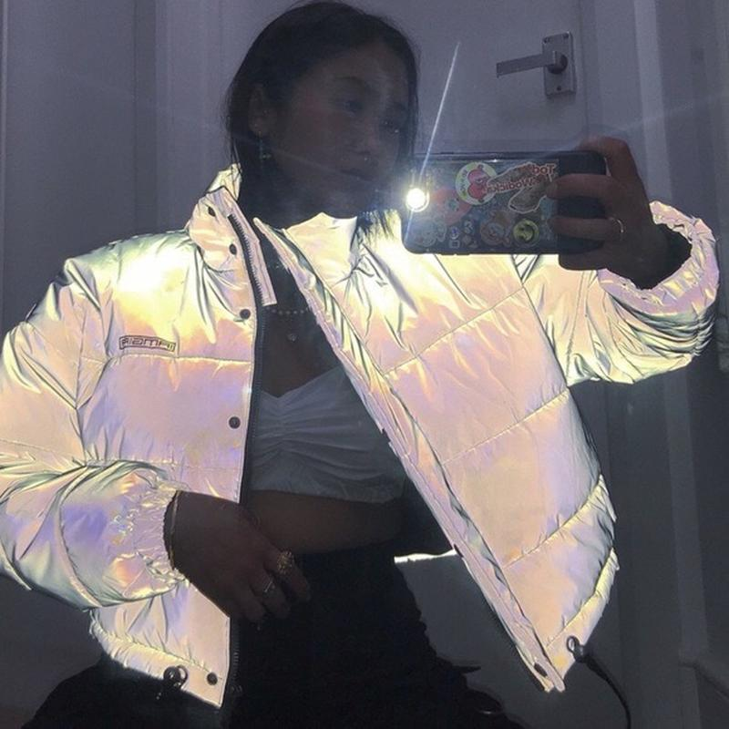Рефлективная светоотражающая куртка iamgia dollskill ASOS, цена - 600 грн, #39815754, купить по доступной цене   Украина - Шафа