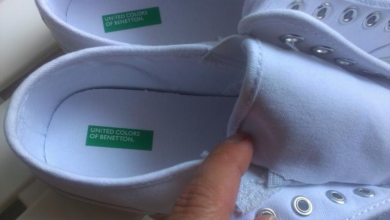b98c8f58 ... Модные кеды, модель без шнурков от benetton, 38 размера2 фото ...