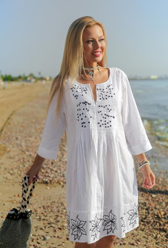 e677d149dde Пляжная туника indiano серия fresh cotton1 фото ...