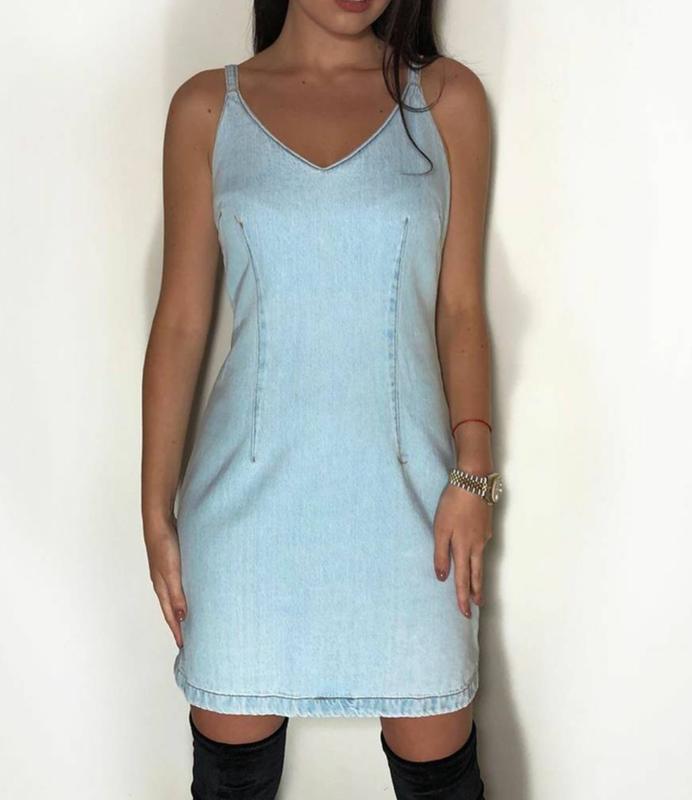 Джинсовый сарафан платье new look New Look, цена - 290 грн, #40968869, купить по доступной цене   Украина - Шафа