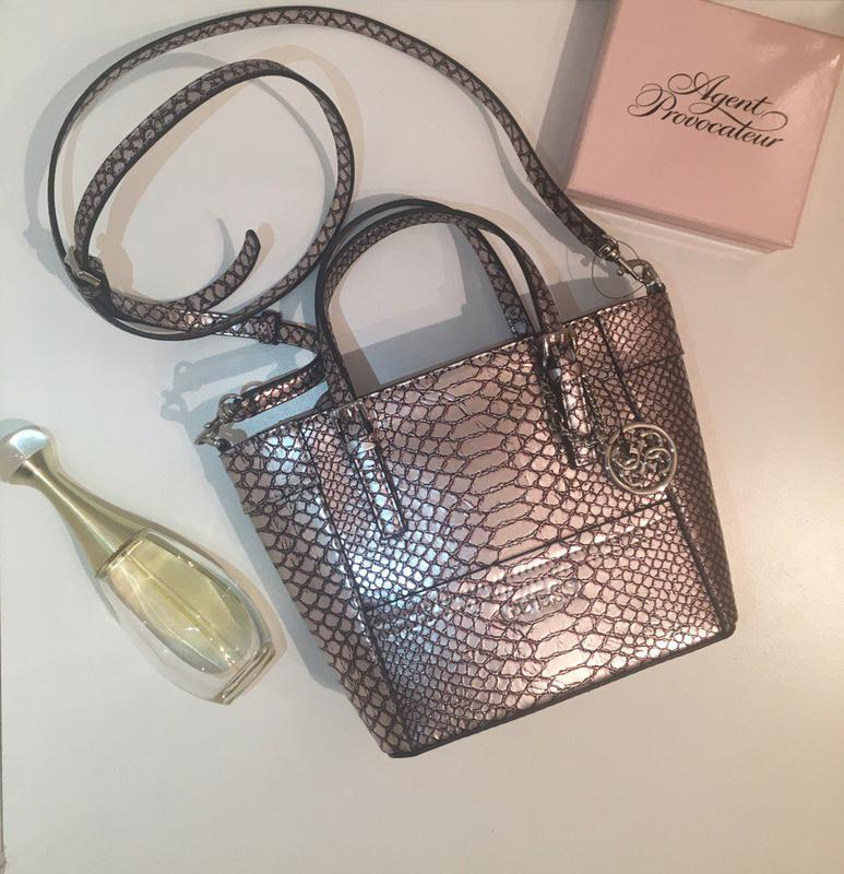 3828273b3666 Guess delaney mini tote сумка. оригинал! новая! Guess, цена - 1400 ...
