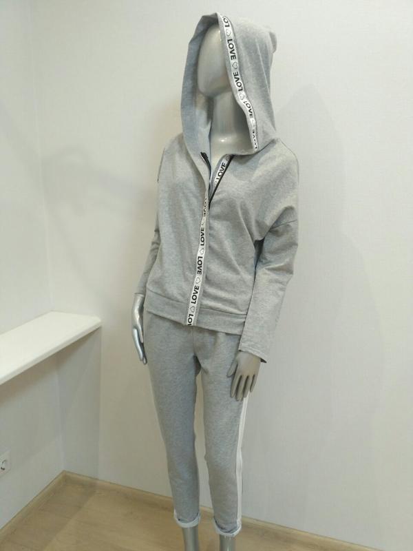 ef204bda Итальянский спортивный костюм серого цвета, цена - 700 грн, #4187205 ...