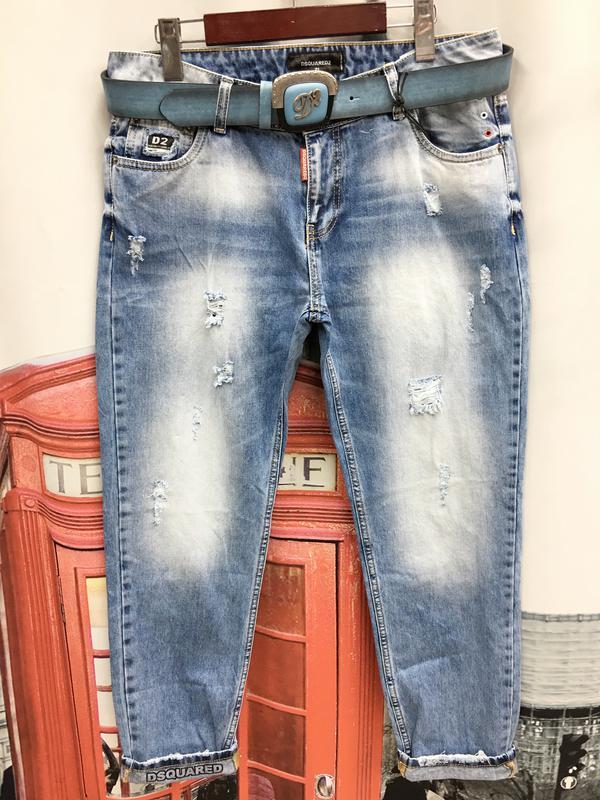 джинсы Dsquared женские с потертостям Dsquared цена 1125 грн