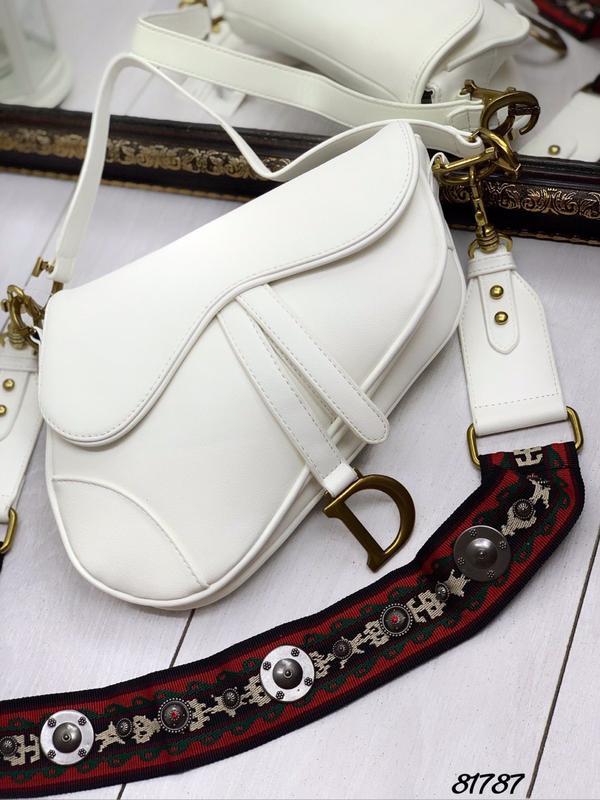 Сумка седло белая, цена - 1450 грн, #41583472, купить по доступной цене | Украина - Шафа