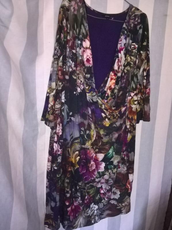 Платье батал с чудным рисунком, цена - 70 грн, #41644775, купить по доступной цене | Украина - Шафа