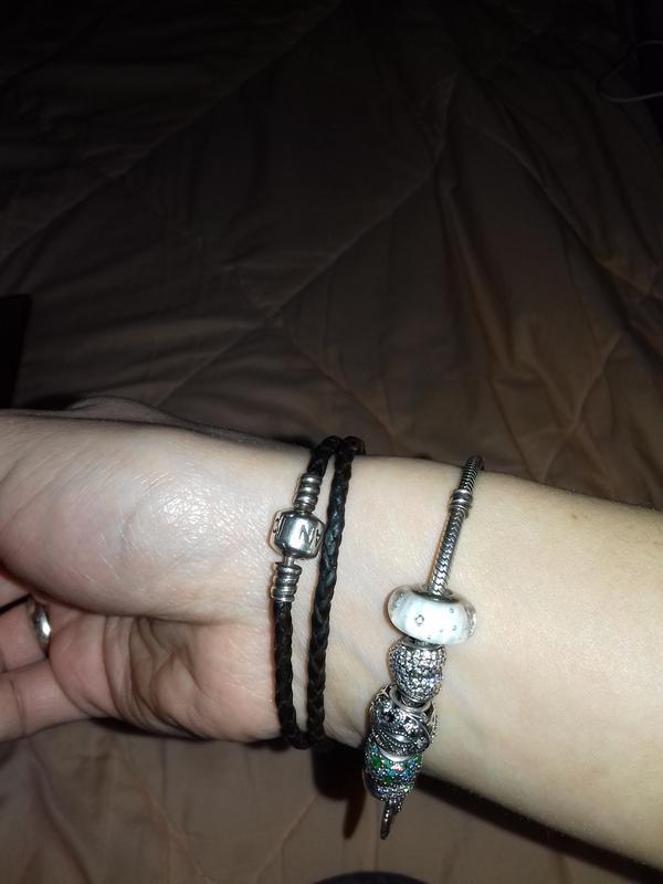 Pandora оригиналдвойной кожаный браслет цена 500 грн 4812169