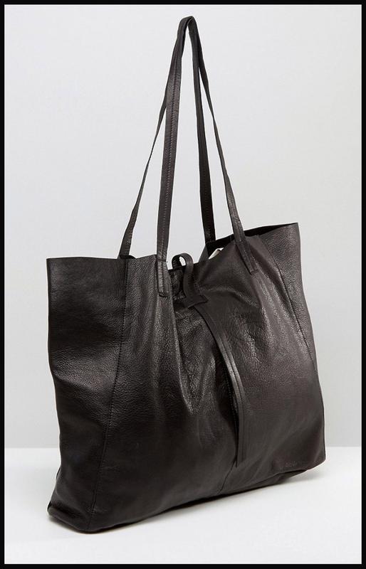 f0982fdbf0c2 Vip стильная большая кожаная сумка шоппер - 100% натуральная кожа – asos1  фото ...