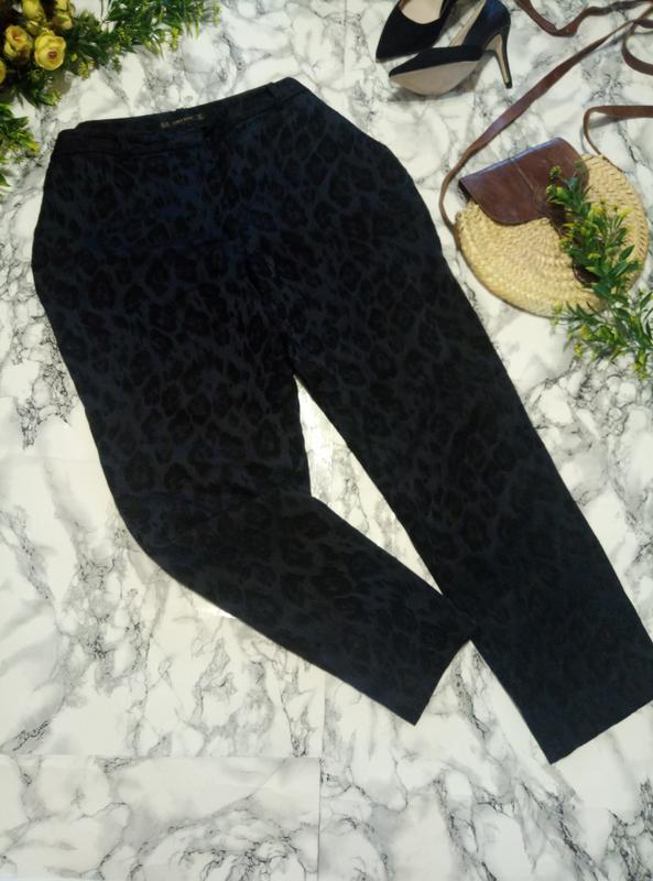 Темно синие брюки ZARA, цена - 155 грн, #41799455, купить по доступной цене   Украина - Шафа