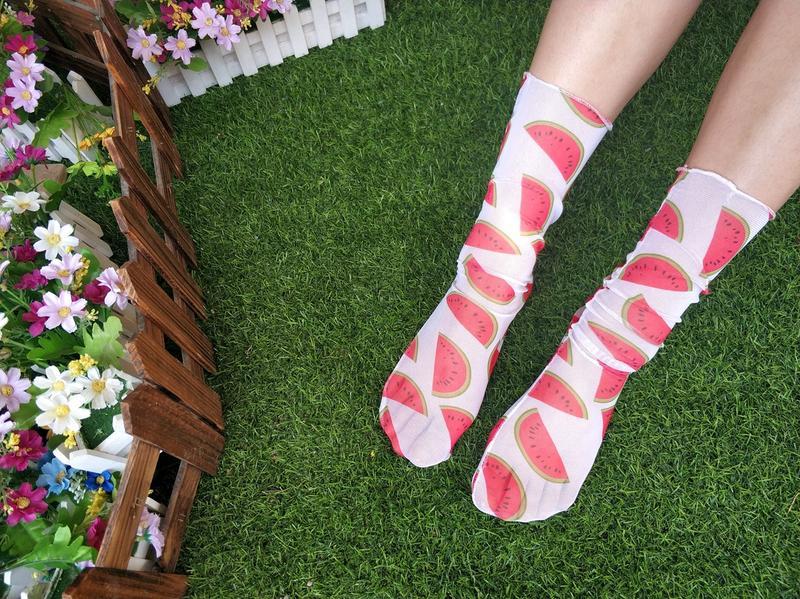 Разноцветные носочки в сеточку арбузики, цена - 68 грн, #41812306, купить по доступной цене | Украина - Шафа