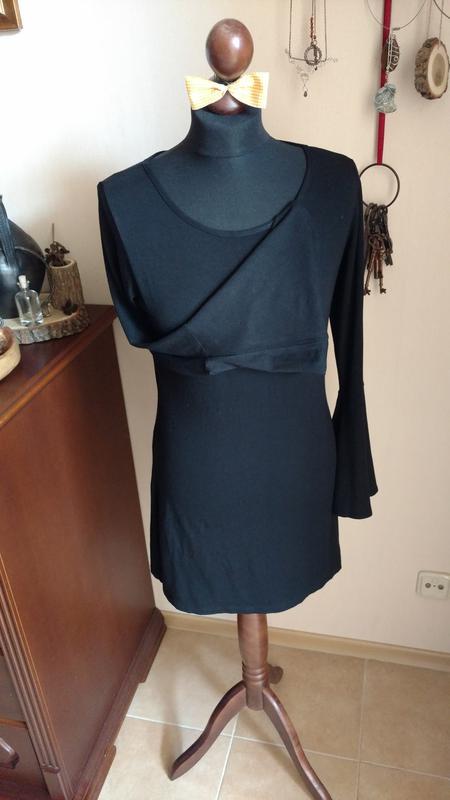 534fdfab819 Базовое черное платье Bonprix