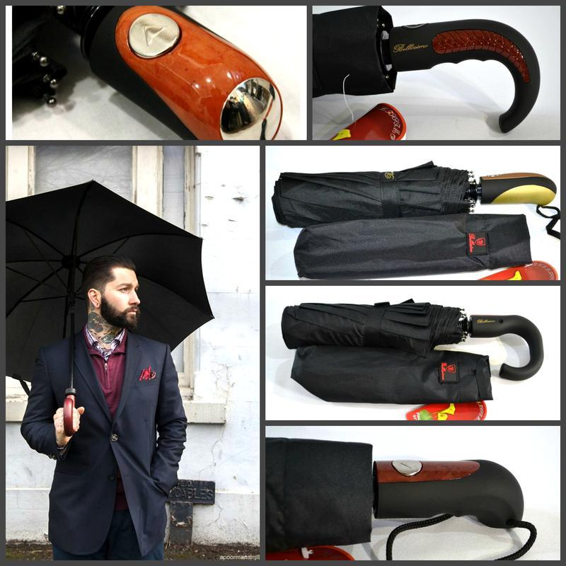 Качественный добротный мужской зонт полуавтомат антиветер, 10 спиц карбон, цена - 220 грн, #42105447, купить по доступной цене | Украина - Шафа