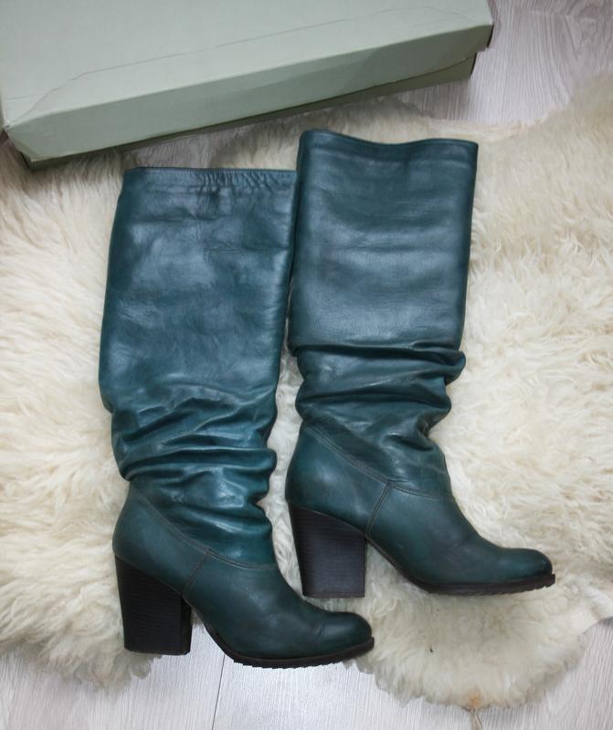 Стильні зимові шкіряні чоботи dcba10d128f6d