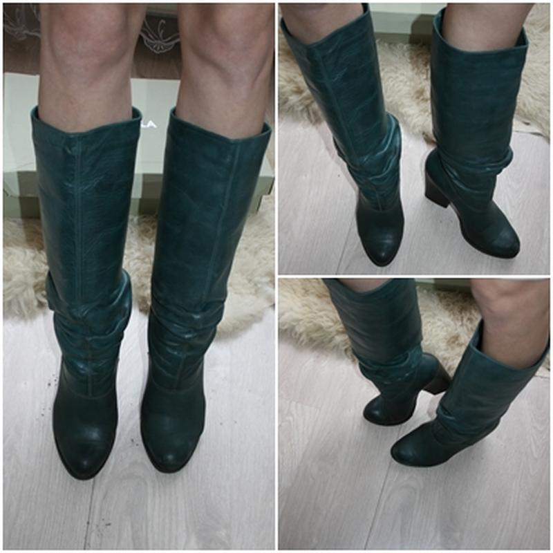 a0e6542d2c1b77 ... Стильні зимові шкіряні чоботи, польської фірми kabala - vero gomma, 39  р.3 ...