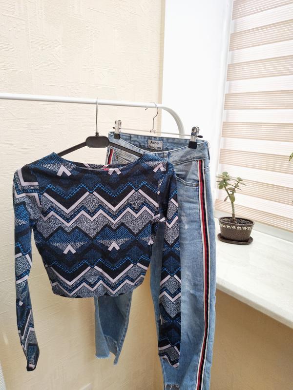 Топ с длинными рукавами H&M, цена - 65 грн, #42175736, купить по доступной цене   Украина - Шафа