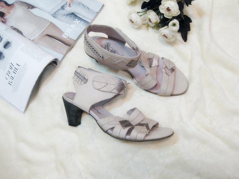 Элитные босоножки из мягкой натуральной кожи от португальского бренда обуви  dcode, р.401 ... 09fa45f3dc1