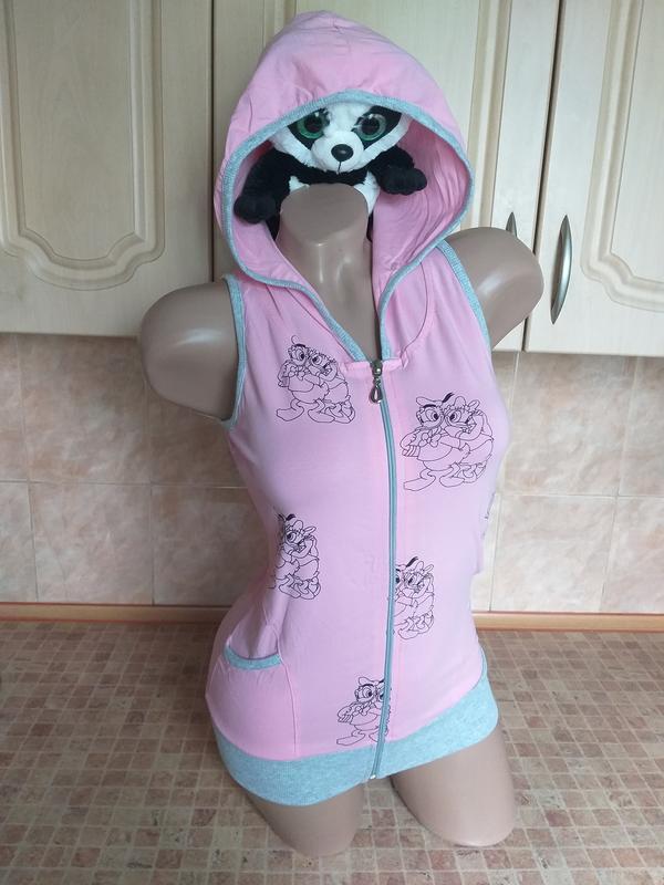 Футболка с капюшоном. розовая футболка. футболка на молнии. Itaka, цена - 150 грн, #42984784, купить по доступной цене | Украина - Шафа