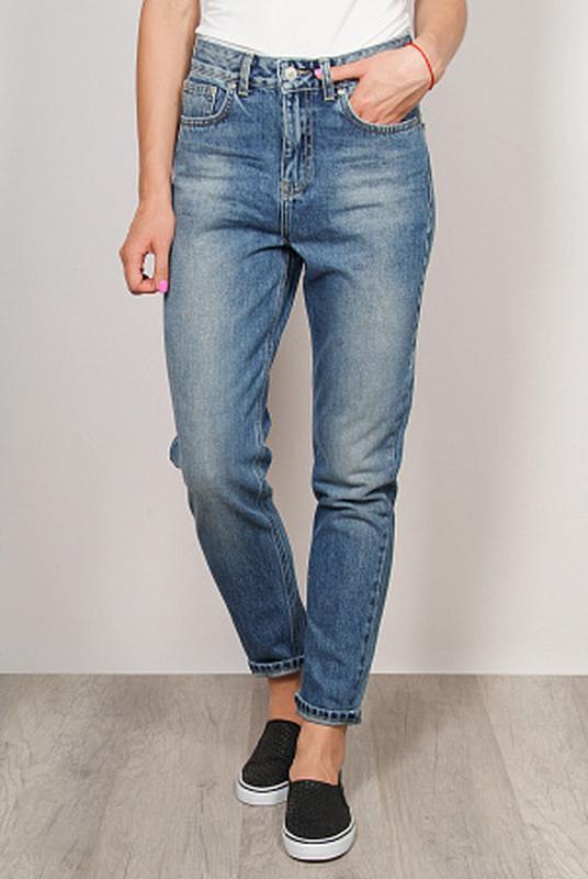 9ffcf99dfee Крутые мом джинсы с завышенной талией1 фото ...
