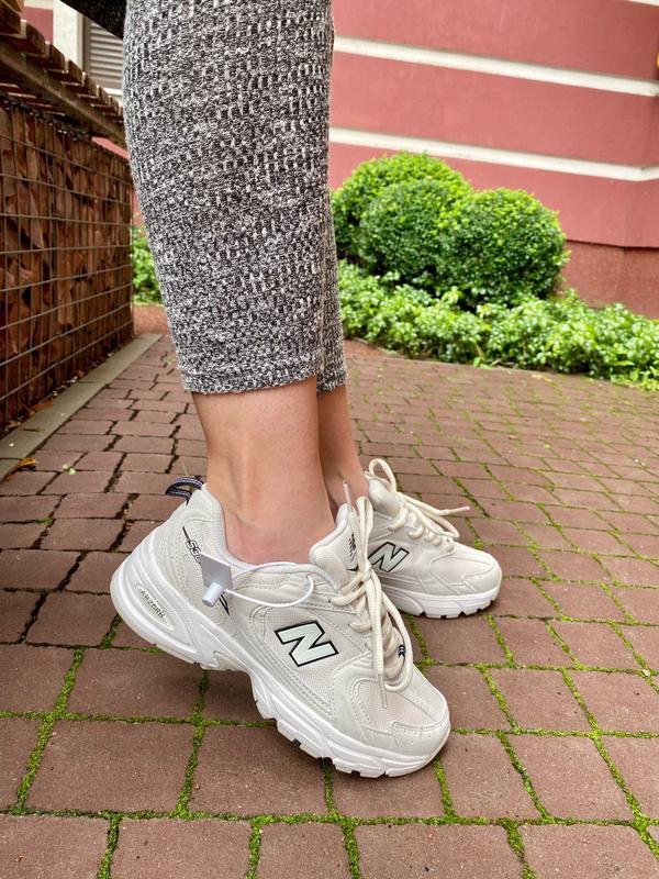 New balance 530 beige ? женские кроссовки нью баланс ? бежевый New Balance, цена - 1750 грн, #43038905, купить по доступной цене | Украина - Шафа