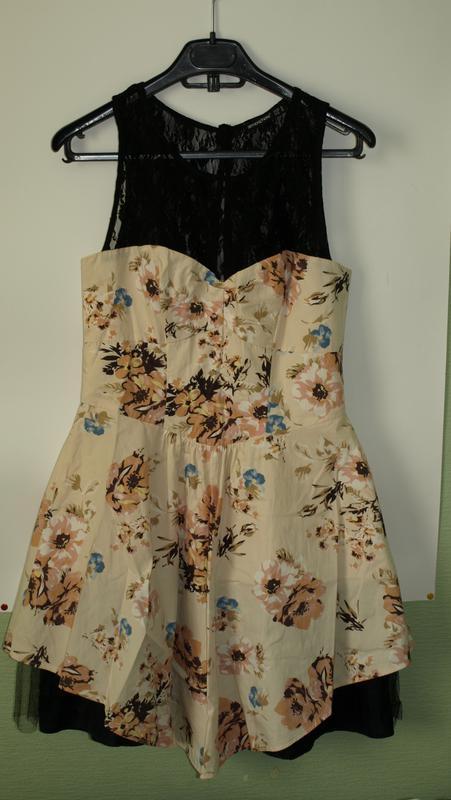 9a72d024c81 Летнее платье с цветочным принтом и кружевом atmosphere Atmosphere ...