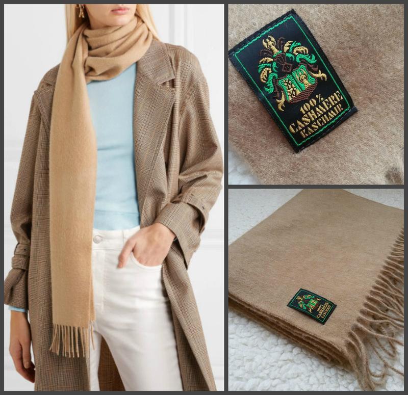Фирменный базовый кашемировый шарф 100% кашемир 32*180, цена - 399 грн, #43678005, купить по доступной цене | Украина - Шафа